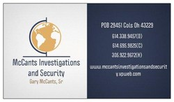 McCants Investigations and Security